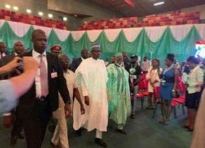 Photos: Buhari, Atiku meet face-to-face to sign Second Peace Accord 2