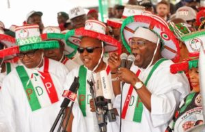 Atiku, Obi receive warm welcome in Lagos rally 2