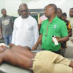2019 Polls: Obaseki visits victims of Owina Primary School attack, calls for calm