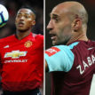 West Ham looks to United's Valencia as replacement for Zabaleta