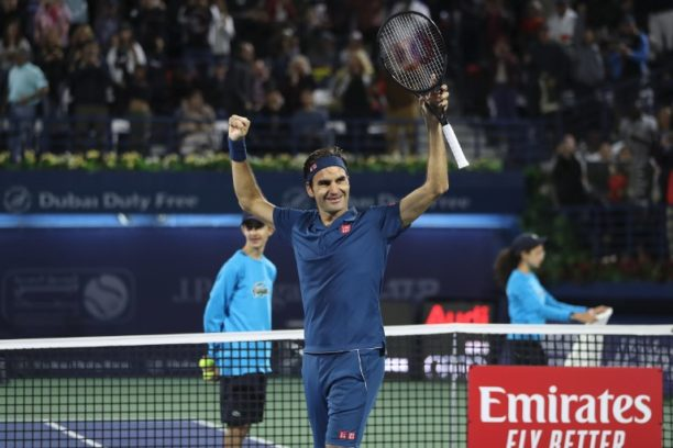 Roger Federer beats Stefanos Tsitsipas to win Dubai Duty Free Tennis Championships