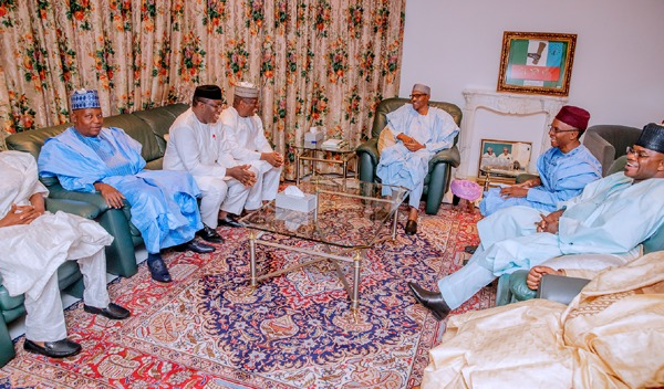 Buhari, APC govs