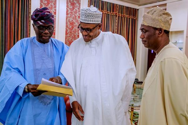 Why Sanw-Olu, deputy governor-elect met Buhari in Aso Rock 2