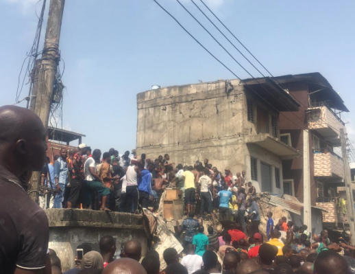 Update On School Children Trapped In Lagos Building