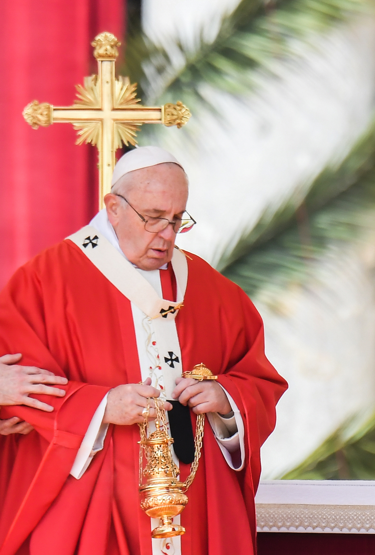 Pope accepts resignation of bishop at centre of sex abuse crisis