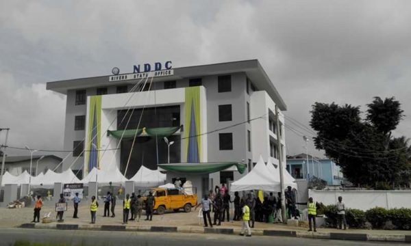 NDDC, rivers, tax