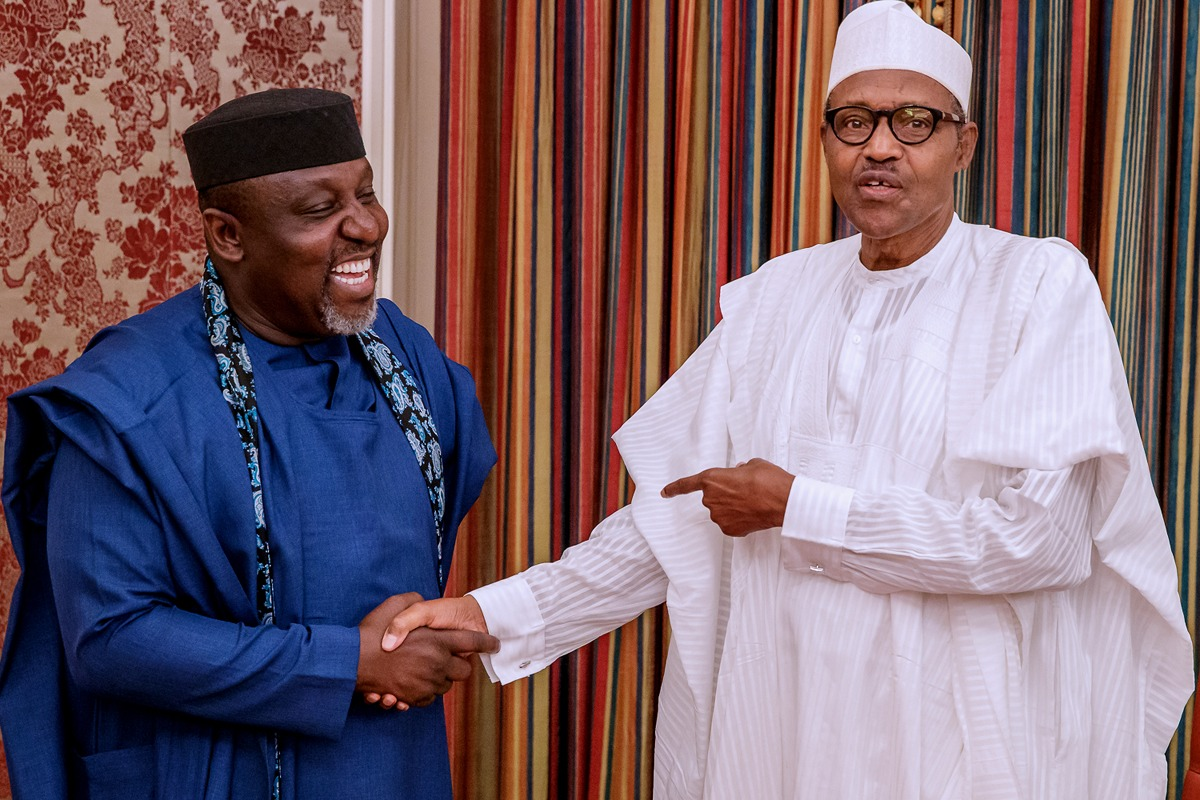 Killings: Restructure security architecture now, Okorocha tells Buhari