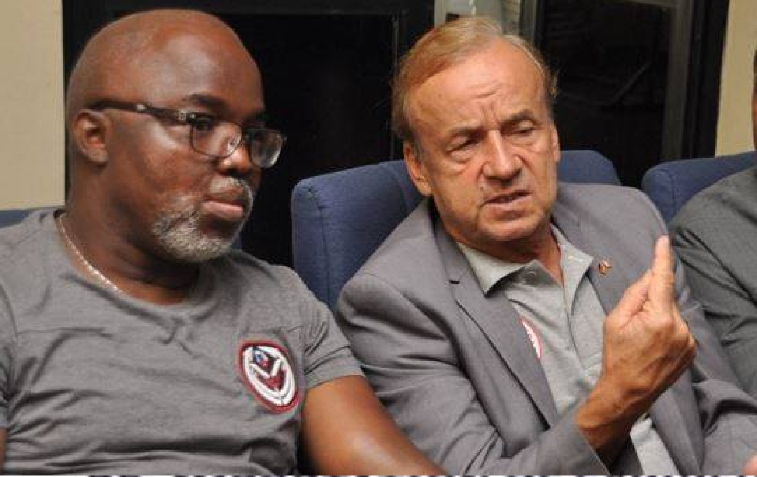 Super Eagles, Rohr, Pinnick, Contract