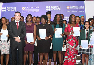 Cambridge awards, British Council