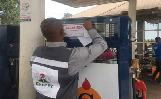 DPR seals 4 filling stations in Zamfara for various offences