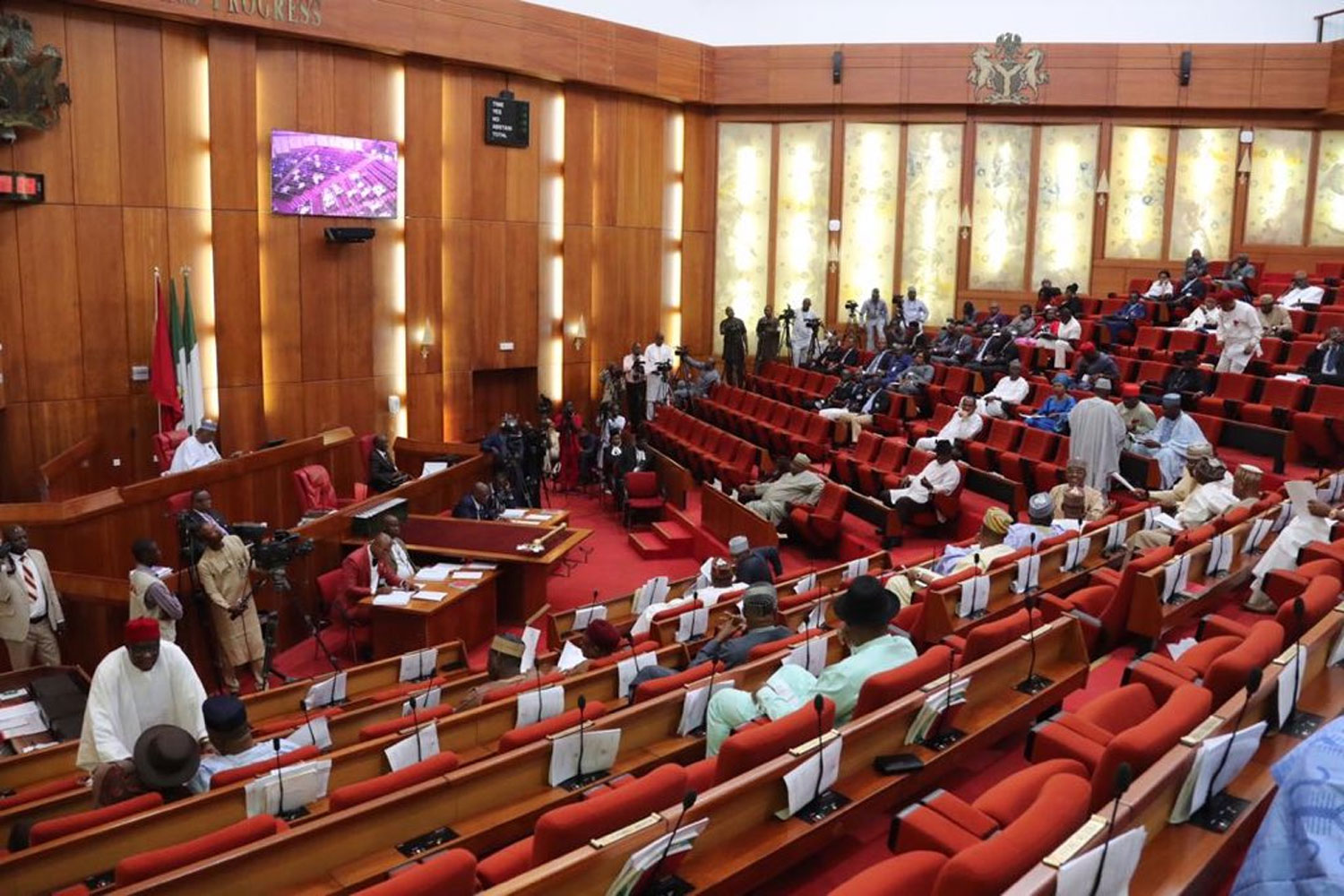 Senate begins screening of Buratai, other ex-service chiefs behind closed door
