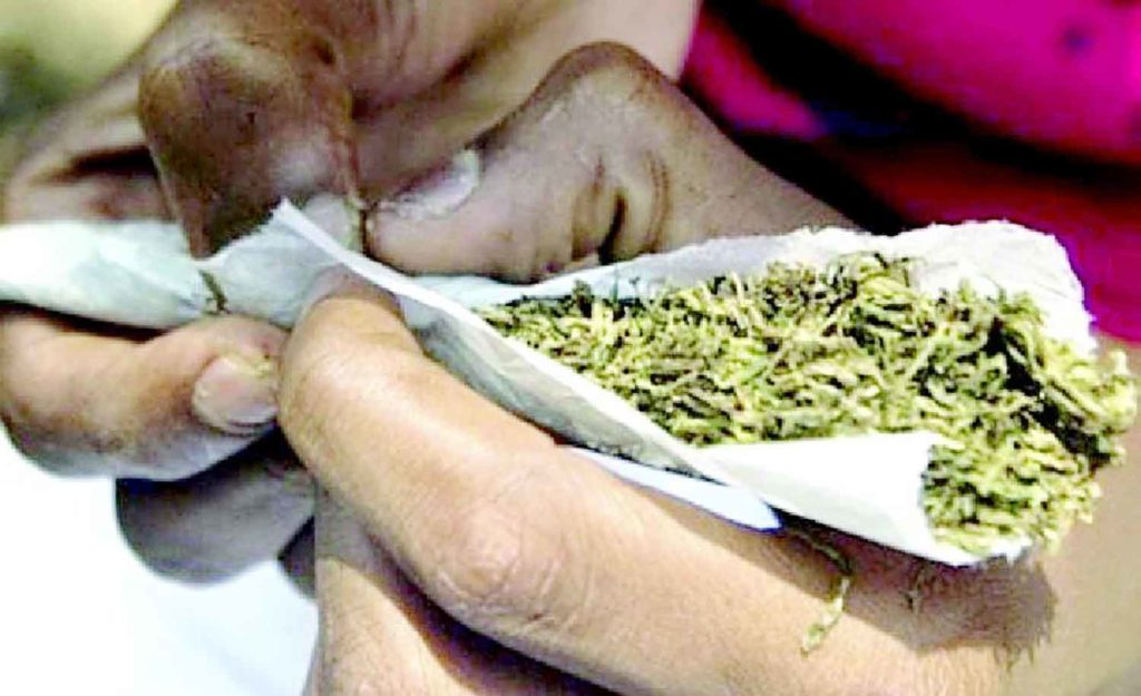 Police arraign 9 for allegedly smoking 'Indian hemp' in public