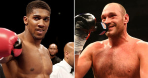 Anthony Joshua 'agrees in principle' two fights with Tyson Fury