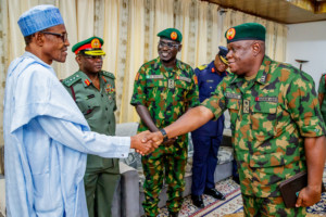 Be merciless against ISWAP, Buhari charges Army