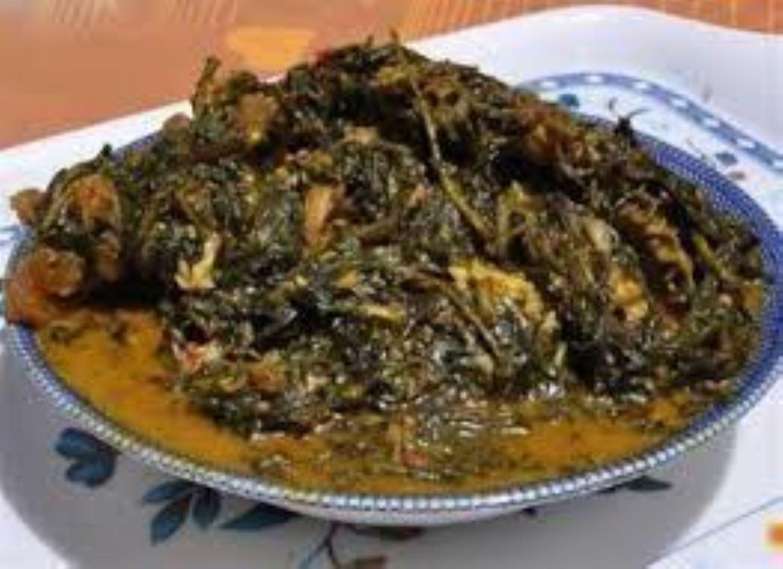 Bitter-leaf soup