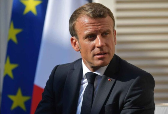 Woman arrested over sex tape that sank ally of France's Macron