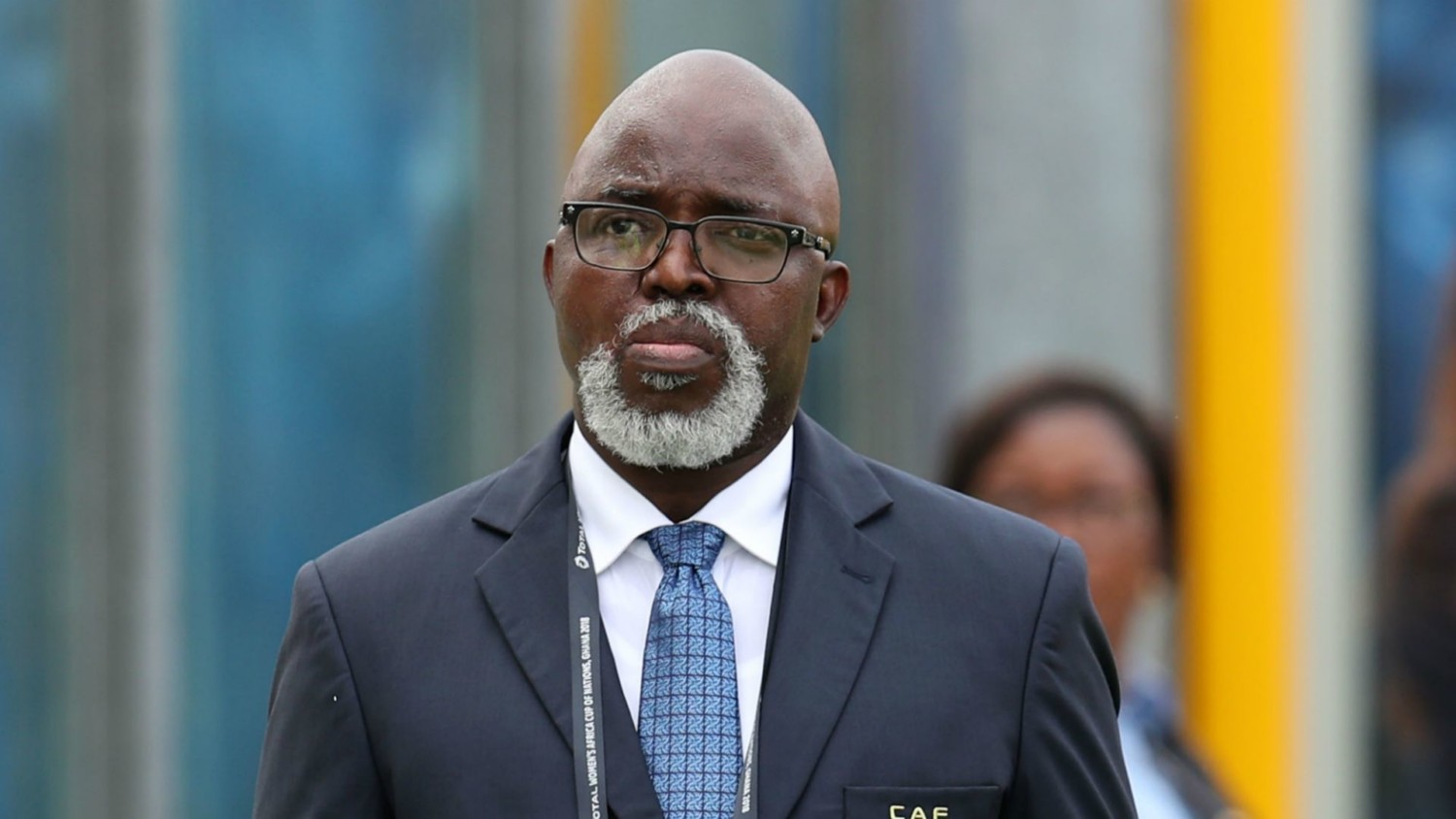 NFF boss, Pinnick refuses to rule out CAF presidency bid