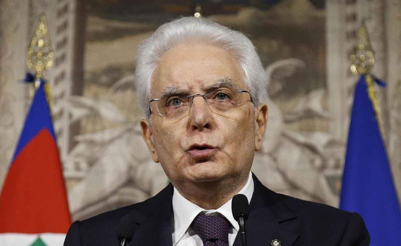 Italy, Sergio Mattarella