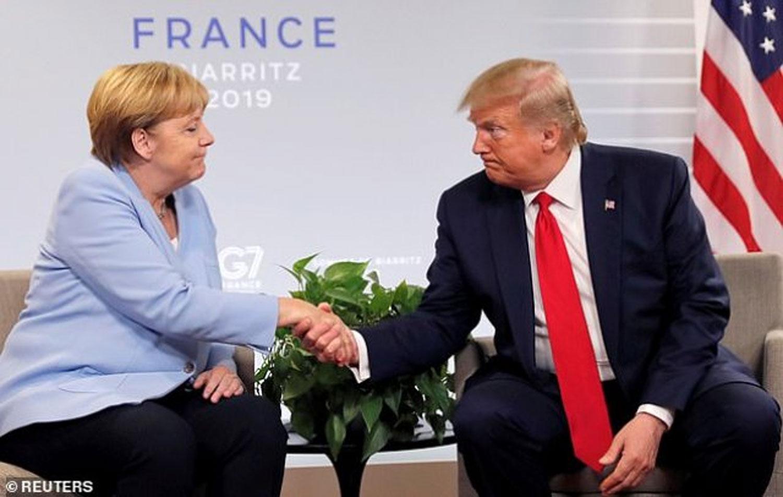Merkel rejects Trump's invitation for G7 summit in Washington