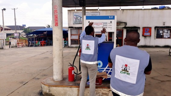 DPR seals five petrol, gas stations in Kogi for cheating
