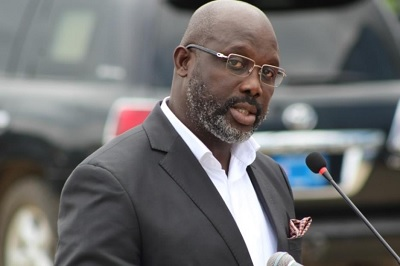 Protest against George Weah in Liberia