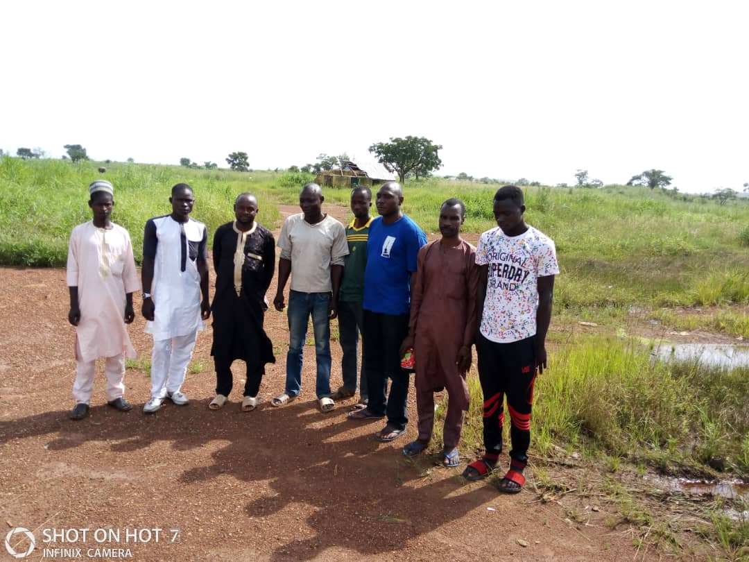 Kidnap victims rescued troops of the Nigerian Army in Kaduna