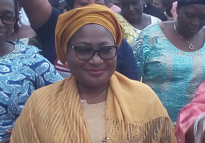 Protect your children from COVID-19, Oyetola's wife charges parents