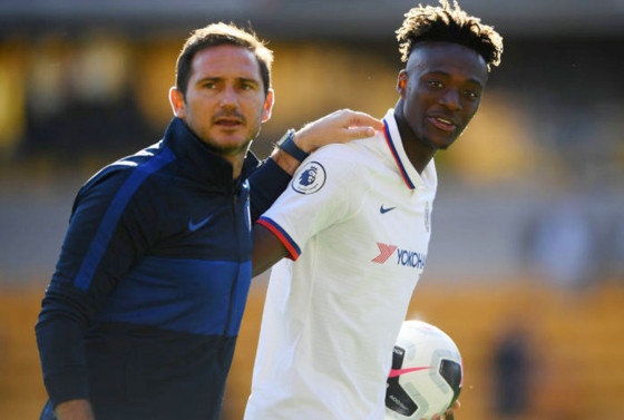Lampard concerned by Abraham's ankle injury