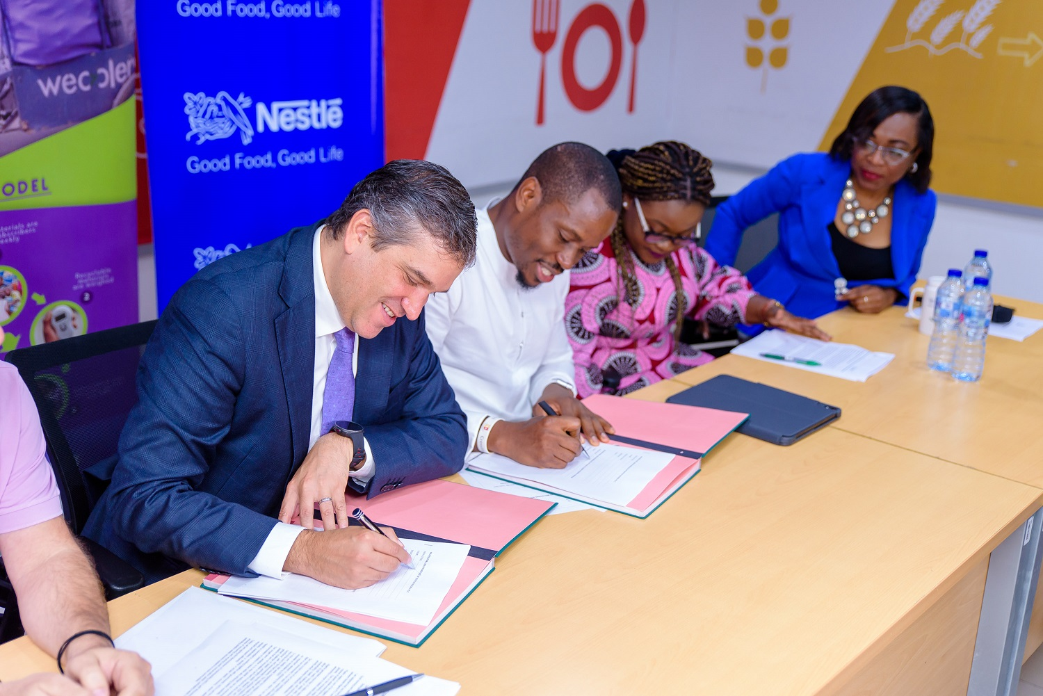 Nestlé Nigeria, Wecylers tackle plastic waste pollution in Lagos