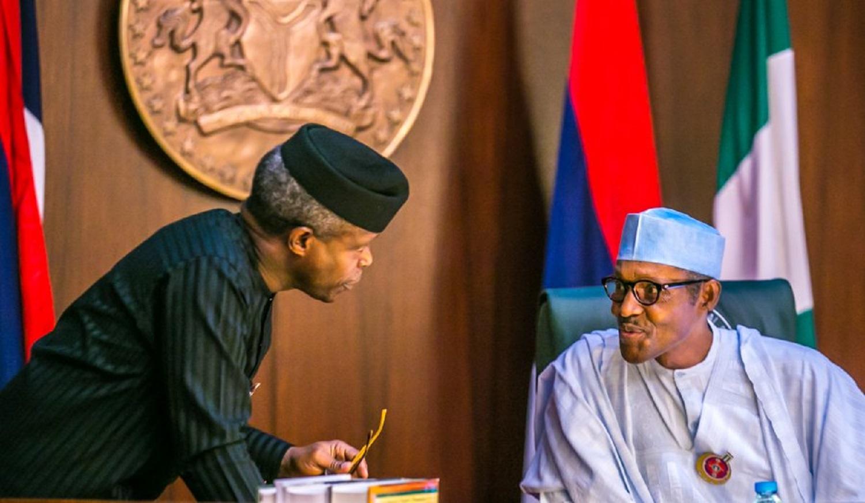 I'm proud to have selected Osinbajo as my running mate ― Buhari