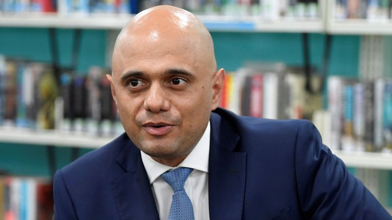 Sajid Javid, Uk, Minimum wage