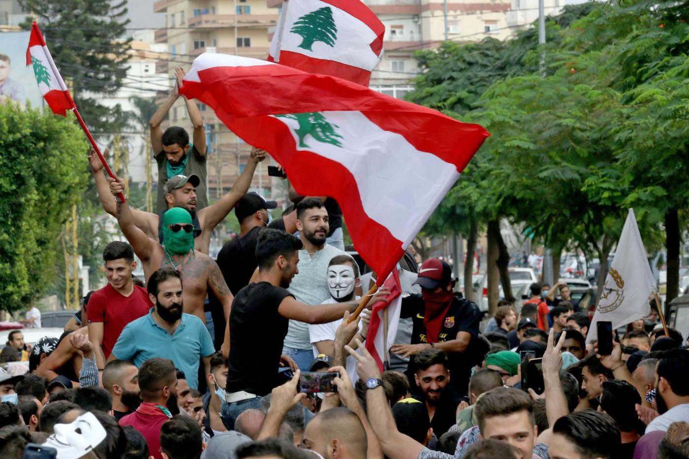 Saad Hariri, Lebanon, Protests