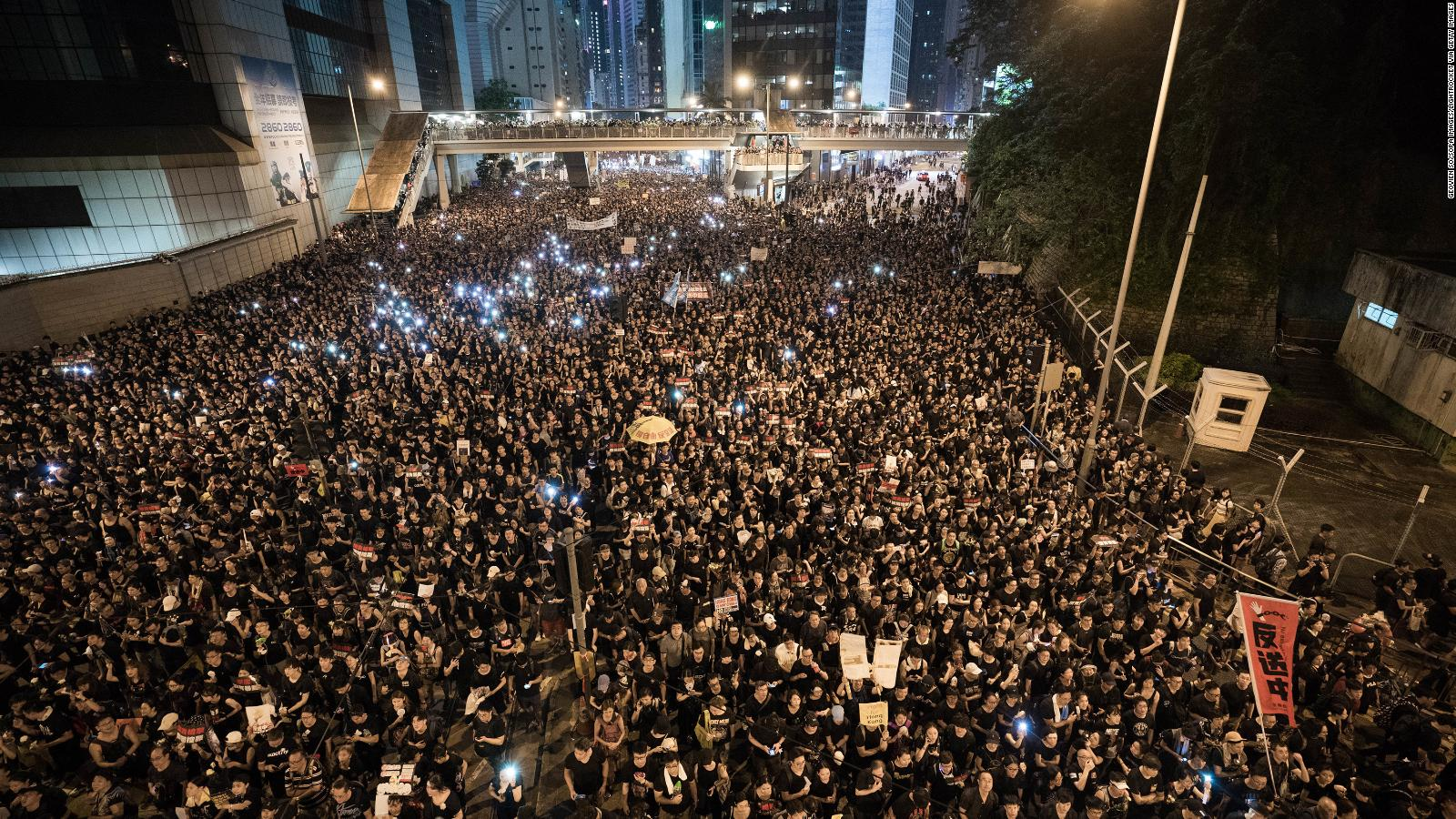 Hong Kong protests, Students