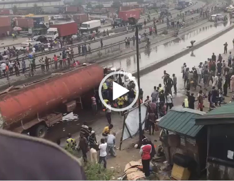 Tanker, Lagos, Mile 2