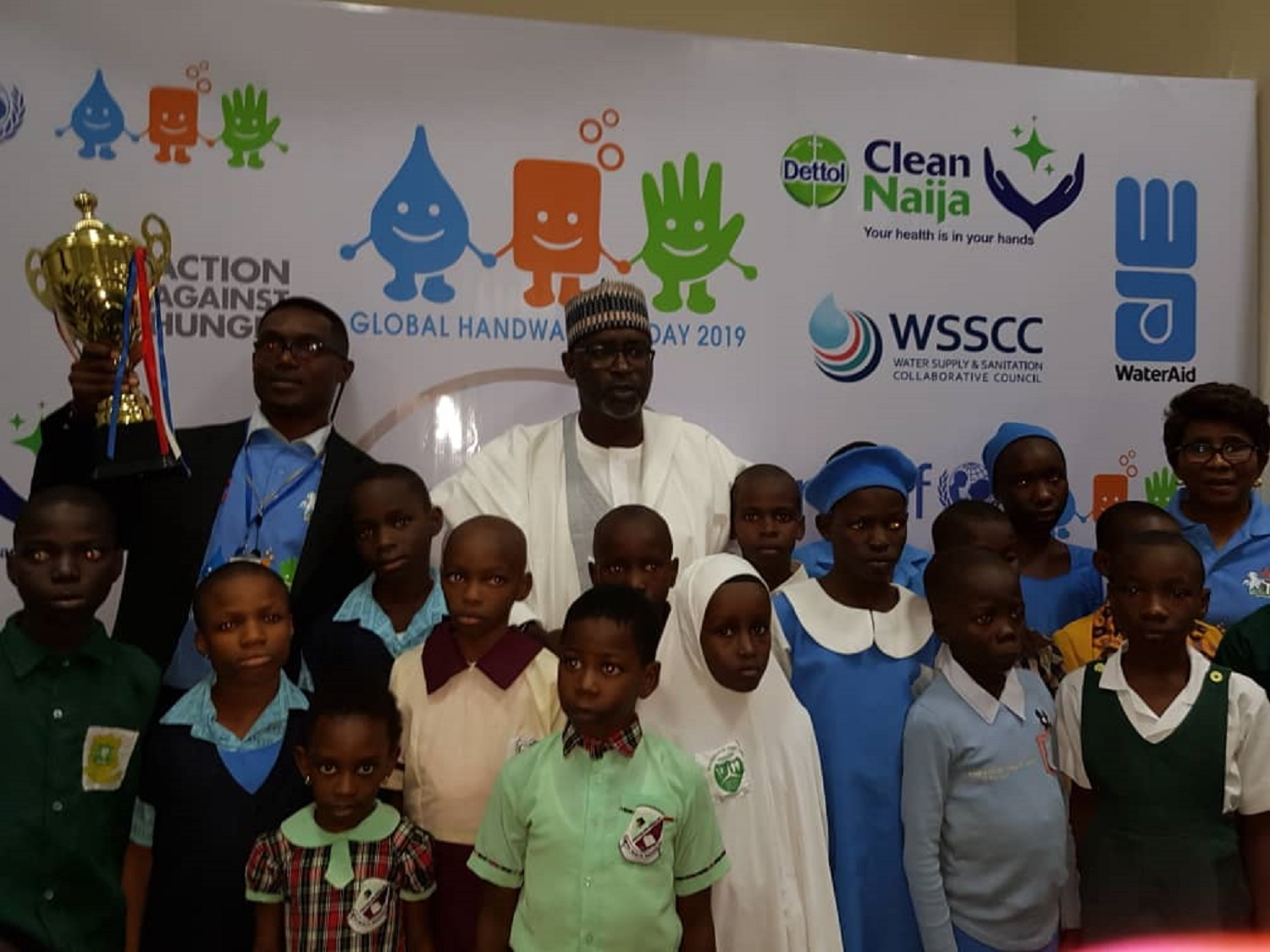 2019 Global Hand Washing Day: Minister engages children on prevention against killer diseases