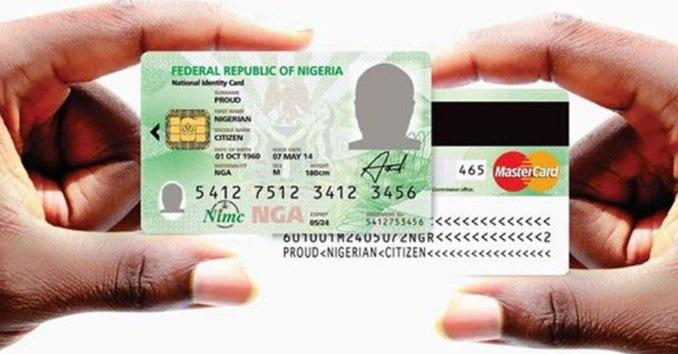 NIMC, National ID, mastercard
