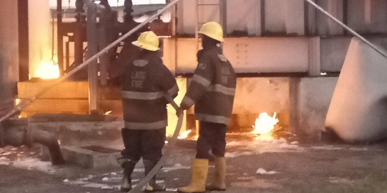 Pipeline inferno guts Onikan Water works