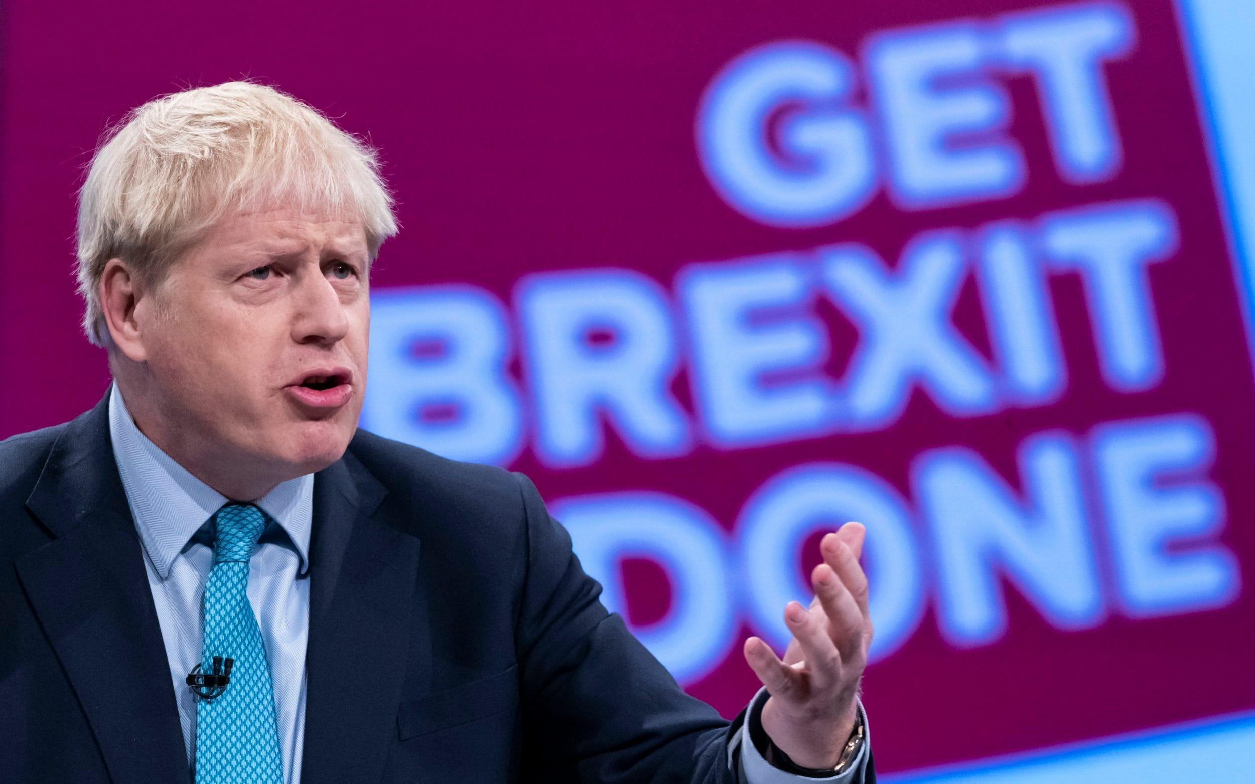 Johnson, Trump, UK, Election