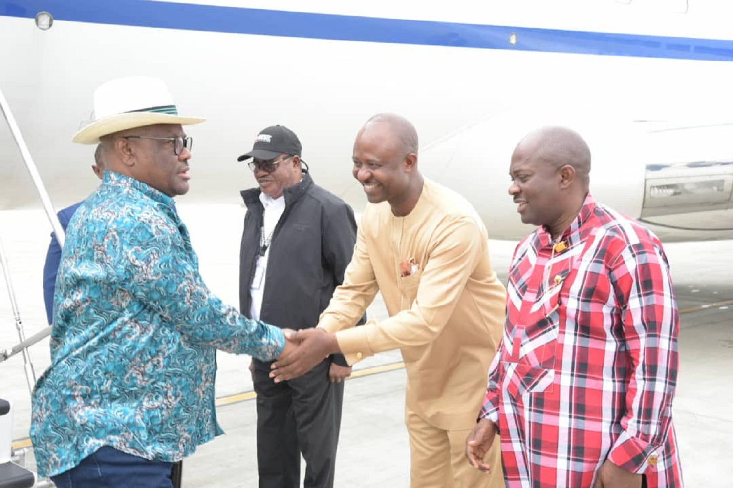 Governor Wike returns after official visit to Addis Ababa