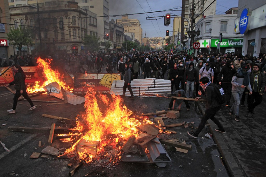 Chile, Pinera, Protests, Summit