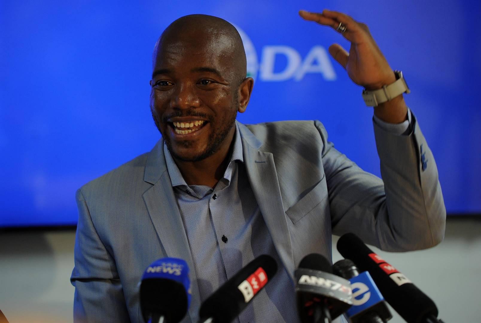 Mmusi Maimane, Opposition