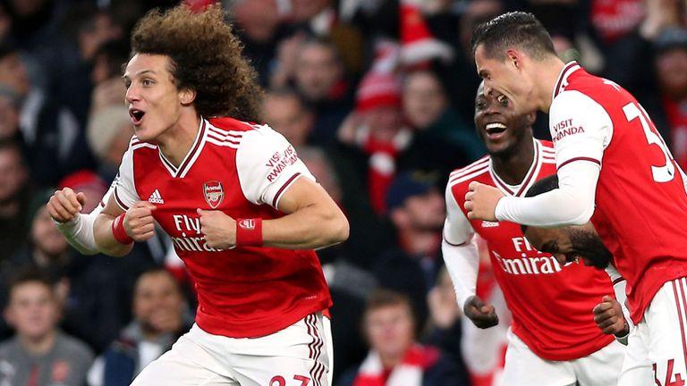 , David Luiz, Arsenal