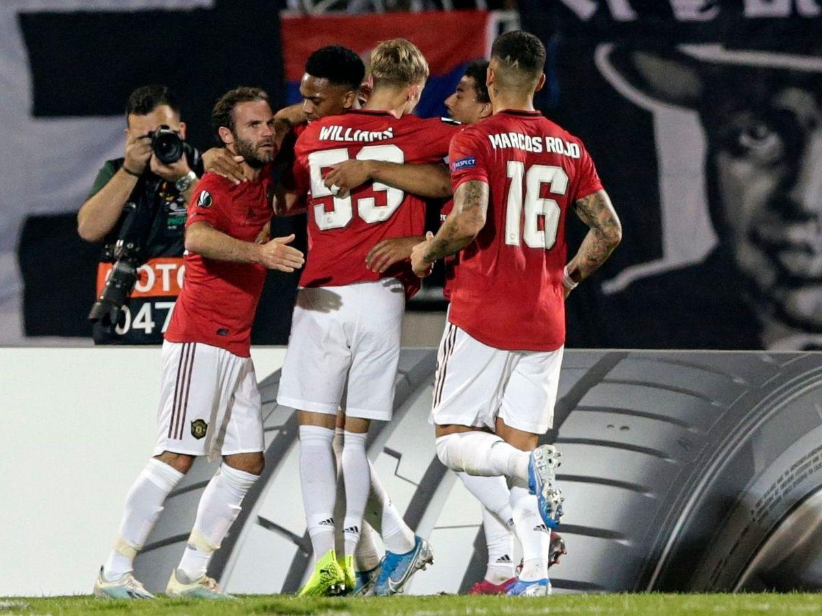 Man United, Partizan Belgrade, Europa League