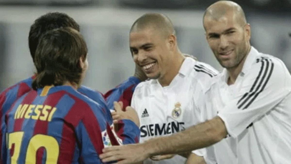 Messi, Zidane