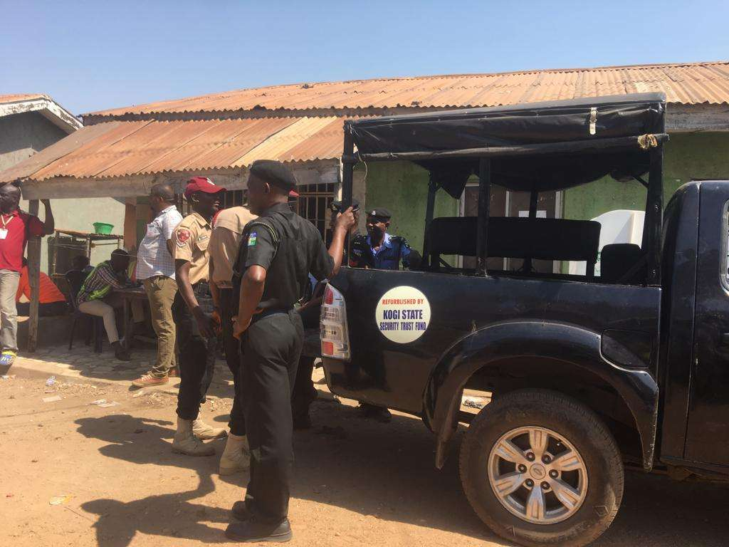 Kogi West senatorial rerun: 'Fake' policemen nabbed