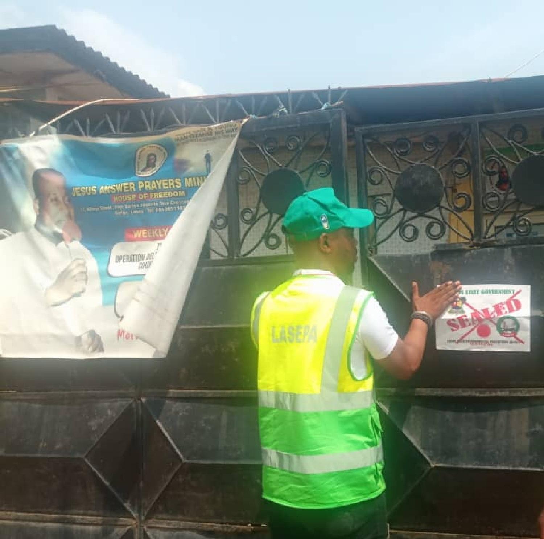 Lagos, noise pollution, church, mosque, religious