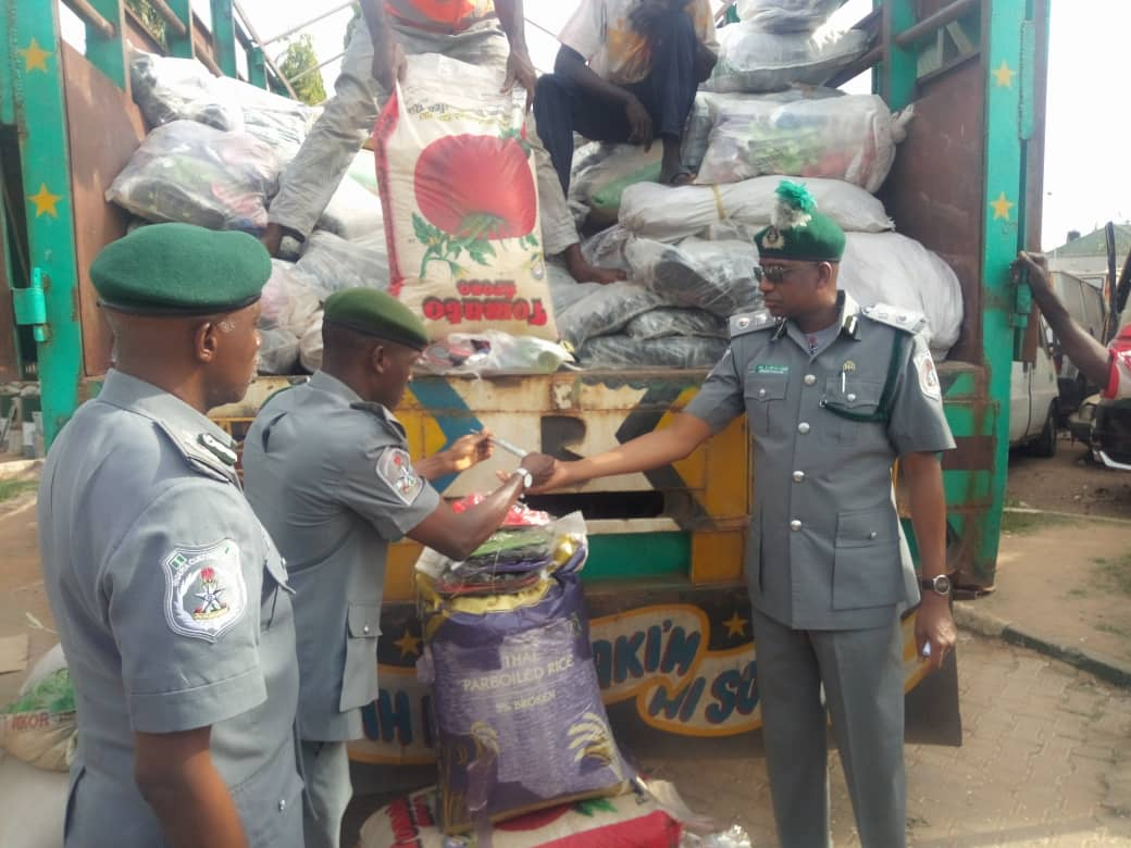 Customs seizes N43m smuggled goods within one week in Kaduna