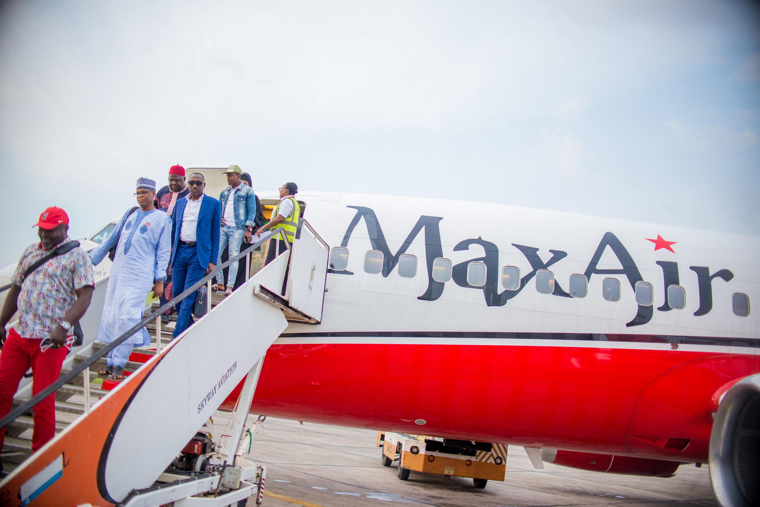 Max Air, Azman Air, Benin