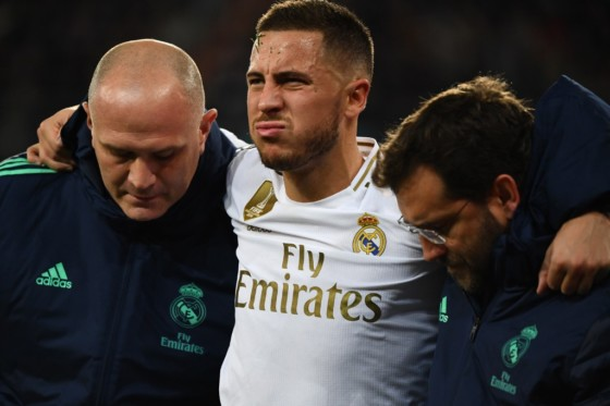 Hazard's injury doesn't look good, admits Madrid boss Zidane
