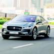 Self-driving Prototype Jaguar I-PACE hits the road